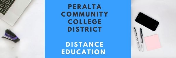 Peralta Community College District Distance Education