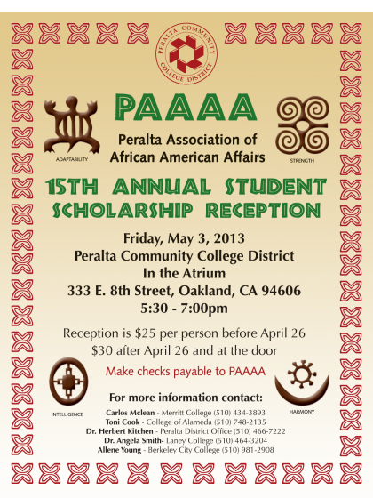PAAAA 15th Annual Student Scholarship Reception