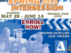 Spring Intersession