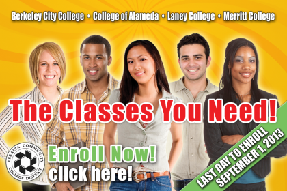 Last chance to enroll for Fall 2013