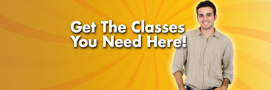 Get the classes you needed!