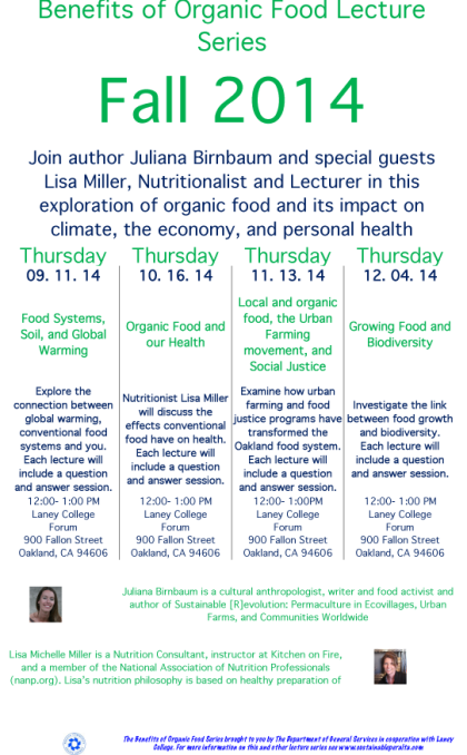 Organic Lecture Flyer-2