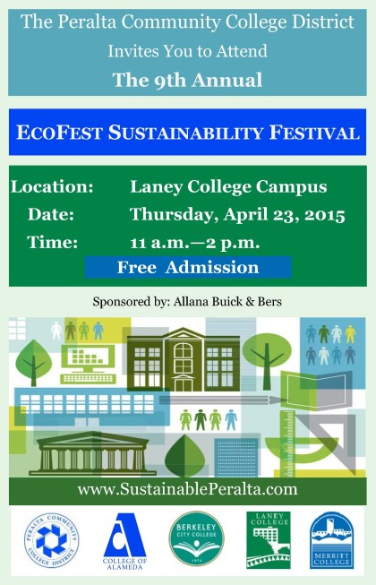 FLYER SUSTAINABILITY FESTIVAL  2015