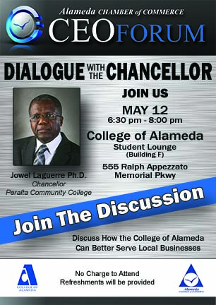 Dialogue with the Chancellor Web Flyer