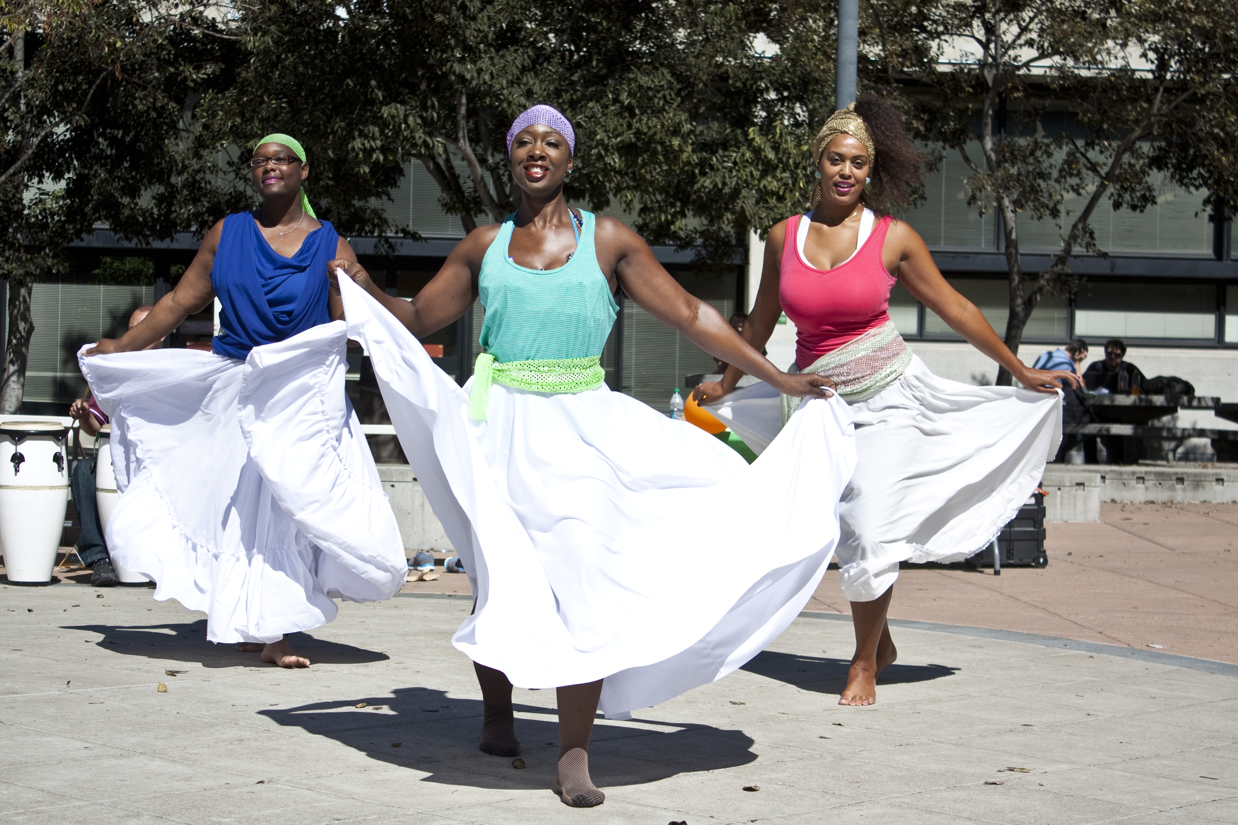Laney College Dance Department performance from Students (Photo Courtesy of Wilfred Galila)