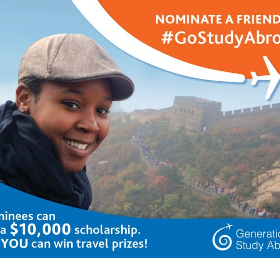 Win a $10K Scholarship in the #GoStudy Abroad Contest