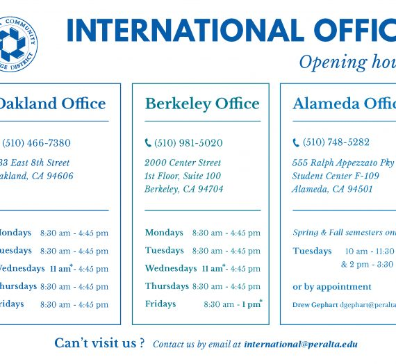 New Hours of Operation beginning August 22, 2016