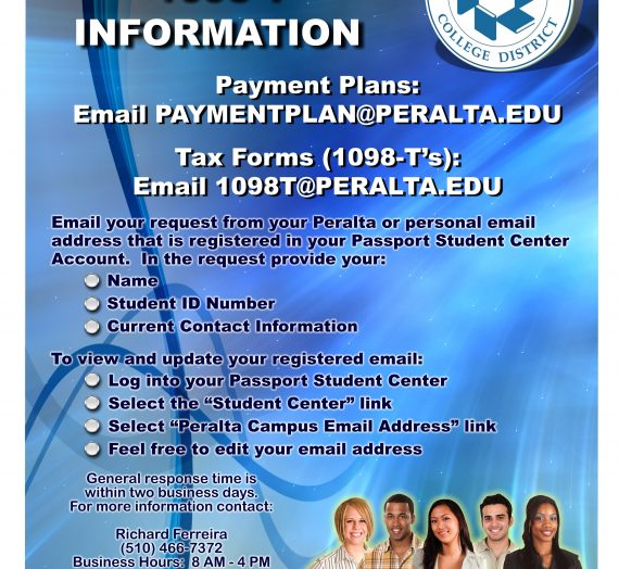 Payment Plan & 1098-T Information