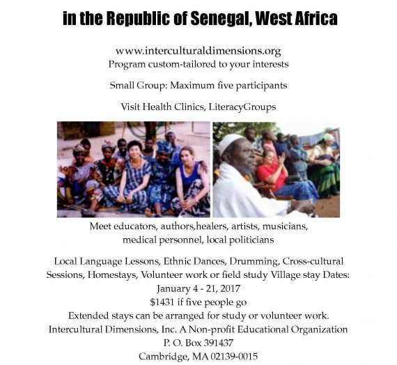 Experience Life in the Republic of Senegal, West Africa