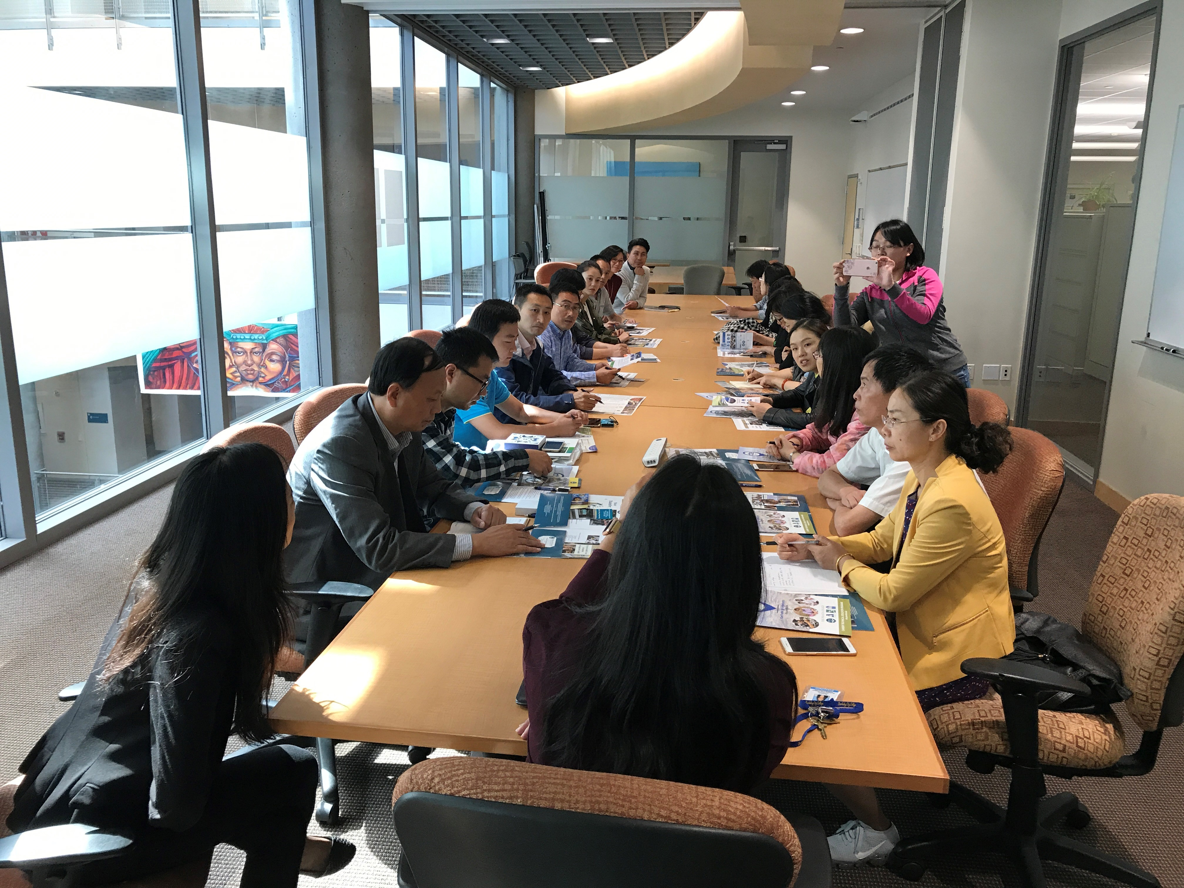 Nanjing Polytechnic Institute Delegation Visit to BCC (8-16-17)2