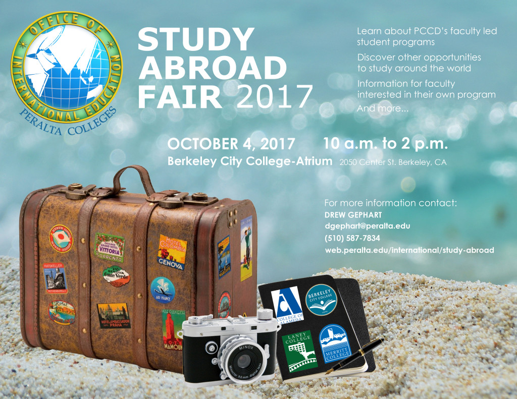 Study Abroad 2017 Flyer